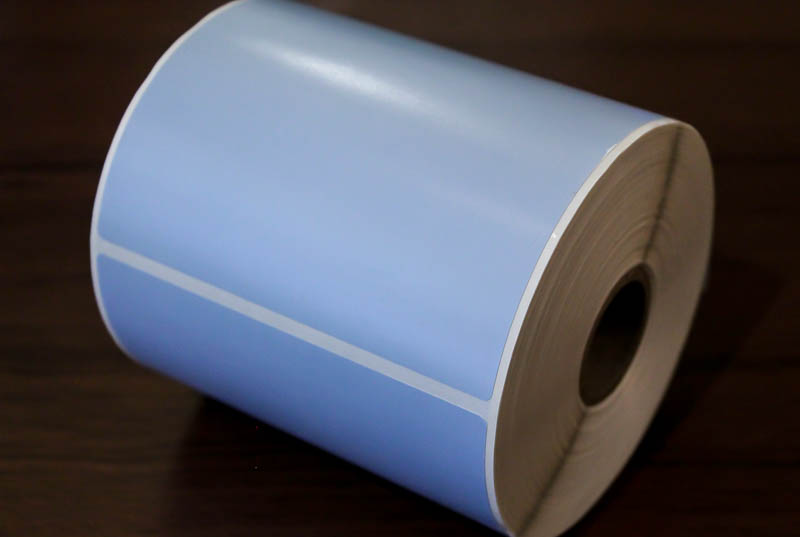 4x6 Pale blue tire labels (Pack of 3 rolls)